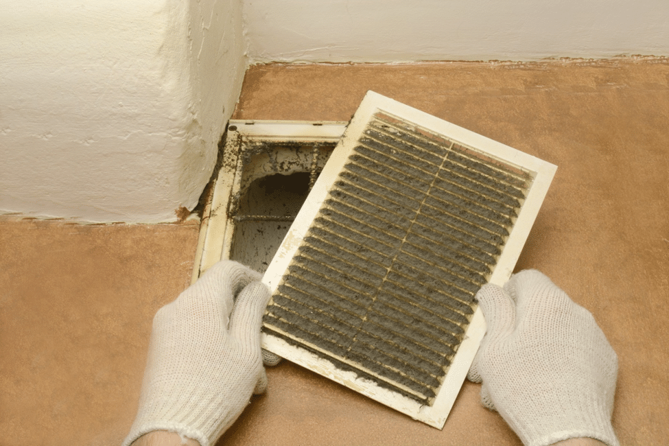 dirty floor vent